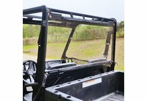 Dot Weld Rear Windshield - 2015-20 Mid Size Polaris Ranger 500 | 570 | ETX | EV