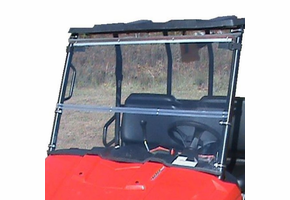 Dot Weld Folding Front Windshield - 2010-14 Mid Size Polaris Ranger 400 | 500 | 570 | 800 | EV
