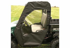 Over Armour Soft Doors and Rear Window - American Sportworks Landmaster