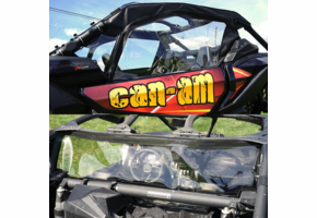 Over Armour Soft Upper Doors and Rear Window - Can Am Maverick X3