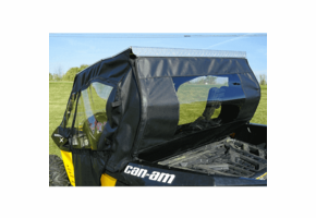 Over Armour Slide-N-Ride Doors and Rear Window - Can Am Maverick