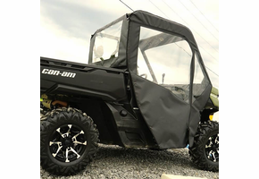 Over Armour Full Cab w| Aero-Vent Windshield - Can Am Defender