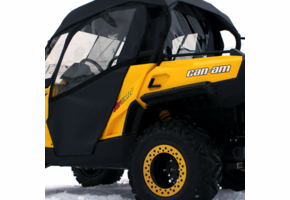 Over Armour Soft Doors and Rear Window - Can Am Commander