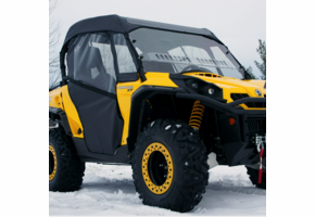 Over Armour Full Cab Enclosure w| Aero-Vent Windshield - Can Am Commander