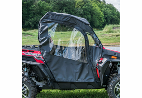 3 Star Soft Full Doors w| Zippered Windows - CFMOTO ZForce 500 | 800 | 800EX