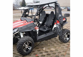 Full Hard Cab Enclosure by Hard Cabs - 2015-20 CF Moto ZForce 500 | 800 | 800EX | 1000