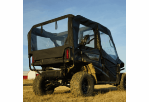Over Armour Soft Doors, Middle and Rear Windows - Honda Pioneer 1000-5