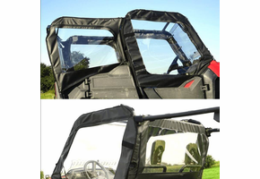 Over Armour Doors and Middle Window - Honda Pioneer 700 4