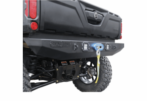 Battle Armor Designs Gen 2 Rear Bumper w | Winch Plate and Bed Mounts - Can Am Defender