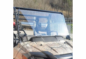 Dot Weld Full Front Windshield - Honda Pioneer 700