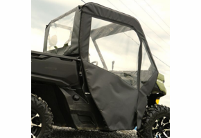 Over Armour Soft Doors and Rear Window - Can Am Defender
