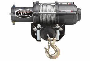 Viper Max 4000 lb. Winch - Steel Cable
