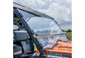3 Star Modular Two-Piece Front Lexan Windshield w| Adjustable Vents - CFMOTO UForce 500 | 800