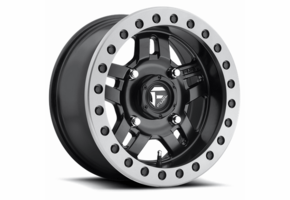 Fuel Anza D917 Matte Black Beadlock Wheel Set - 14 and 15 Inch