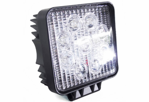 4 Inch 27 Watt Street Series LED Square Light Kit by Race Sport Lighting