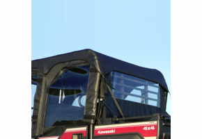 Over Armour Soft Upper REAR Doors and Rear Window - Kawasaki Mule Pro-FXT | DXT