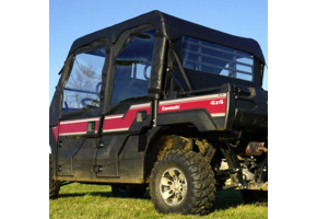 Over Armour Soft Upper Doors, Middle and Rear Windows - Kawasaki Mule Pro-FXT | DXT