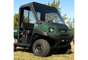 Over Armour Soft Windshield, Top and Rear Window - Kawasaki Mule 3000 | 3010 | 4000 | 4010