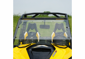Over Armour Aero-Vent Front Windshield - Can Am Maverick
