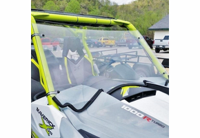 Dot Weld Full Front Windshield - Can-Am Maverick