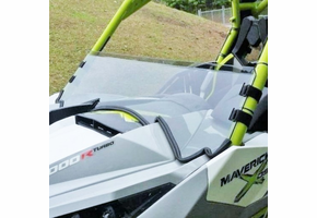 Dot Weld Half Front Windshield - Can-Am Maverick