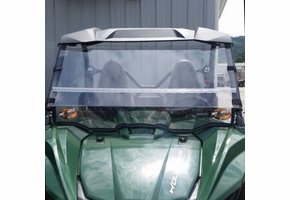 Dot Weld Folding Front Windshield - 2016-18 Yamaha YXZ 1000 R