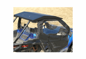 Over Armour Soft Doors, Rear Windshield, and Diamond Plate Hard Top |No Windshield| - Arctic Cat Wildcat Trail | Sport