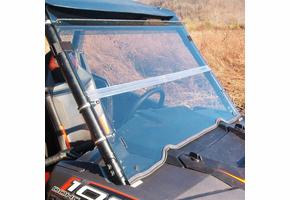 Dot Weld Folding Front Windshield - Arctic Cat Wildcat Trail | Sport