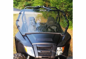 Dot Weld Full Front Windshield - Arctic Cat Wildcat Trail | Sport