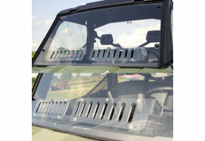 Over Armour Aero-Vent Front Windshield - Can Am Defender