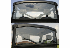 Over Armour Hard Rear Window - Can Am Defender