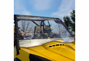 Over Armour Aero-Vent Front Windshield - Can Am Commander