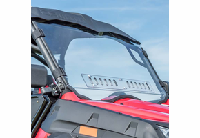 3 Star MR10 Hard-Coated One-Piece Front Windshield w| Adjustable Vents - CFMOTO ZForce 500 | 800 | 800EX | 1000