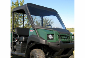 Over Armour Soft Windshield and Top - Kawasaki Mule 3000 | 3010 | 4000 | 4010