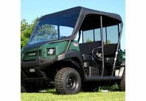 Over Armour Soft Windshield and Top - Kawasaki Mule 3010 Trans | 4010 Trans