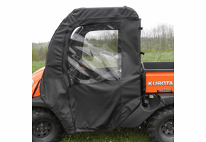 3 Star Soft Full Doors w| Zippered Windows - Kubota RTV 400 | 500