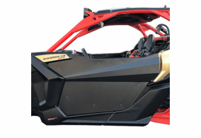 Black Suicide Full Doors by Dirt Specialties - Can Am Maverick X3