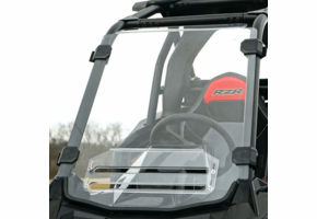 Over Armour Hard Coated Aero-Vent Front Windshield - Polaris RZR RS1