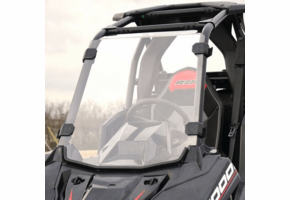 Over Armour Hard Coated Full Front Windshield - Polaris RZR RS1