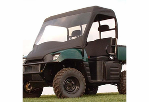 Over Armour Soft Windshield, Top and Rear Window - 2004-08 Polaris Ranger 500 | 700