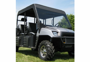 Over Armour Soft Windshield and Top - Full Size Polaris Ranger Crew