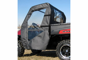 Over Armour Soft Doors and Rear Window - Full Size Polaris Ranger