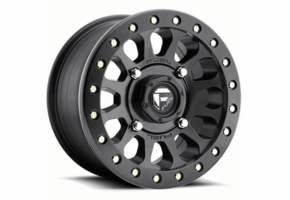 Fuel Vector D920 Matte Black Beadlock Wheel Set - 14 and 15 Inch