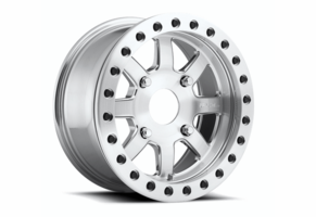 Fuel Trophy D105 Beadlock Wheel Set - 15x7