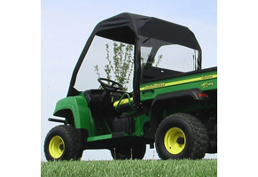 Over Armour Full Folding Front Windshield, Soft Top and Rear Window - 2004-10 John Deere Gator HPX | XUV 620i | 625i | 825i | 850d | 855d