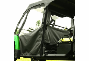 Over Armour Soft Front Doors and Middle Window - 2013-17 John Deere Gator XUV 825i S4 Crew | XUV 855d S4 Crew