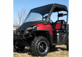 Over Armour Soft Windshield and Top - Full Size Polaris Ranger