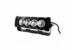 10 Inch Penetrator Series Single Row LED Light Bar by Race Sport Lighting