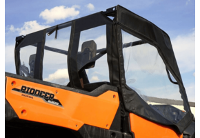 Over Armour Soft Upper Doors and Rear Window - Honda Pioneer 1000