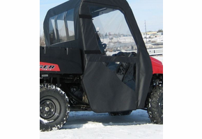 Over Armour Soft Doors and Rear Window - Mid Size Polaris Ranger